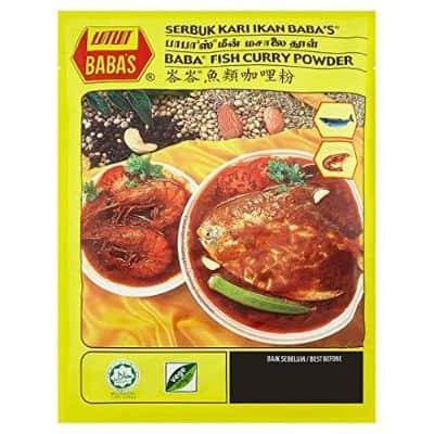 Bumbu Kari Instan Terbaik Baba's Fish Curry Powder