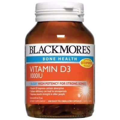 Suplemen Vitamin D Terbaik Blackmores Vitamin D 1.000 IU