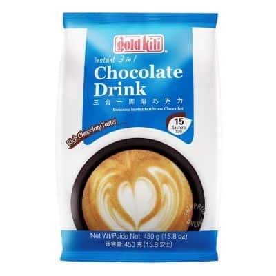 Minuman Coklat Bubuk Instan Enak Terbaik Gold Kili Chocolate Drink