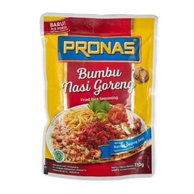 Bumbu Nasi Goreng Instan Enak Terbaik Pronas Fried Rice Seasoning with Corned Beef