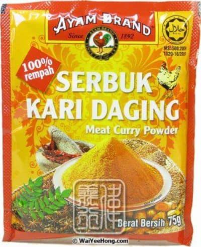 Bumbu Kari Instan Terbaik Ayam Brand Meat Curry Powder