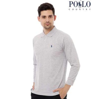 Kaos Lengan Panjang Pria Terbaik Polo Country 2729