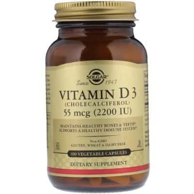 Suplemen Vitamin D Terbaik Solgar Vitamin D3