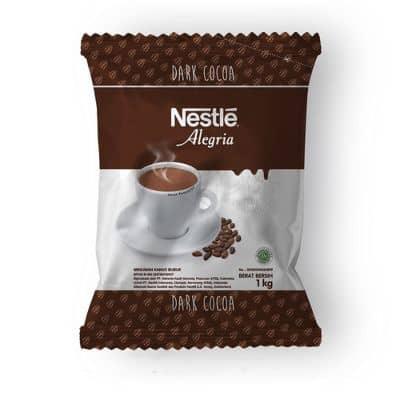 Minuman Coklat Bubuk Instan Enak Terbaik Nestle Alegria Dark Cocoa