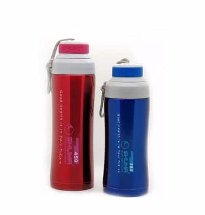 Termos Air Panas Kecil Tahan Lama Shuma S S Vacuum Sport Bottle SSP0450HD