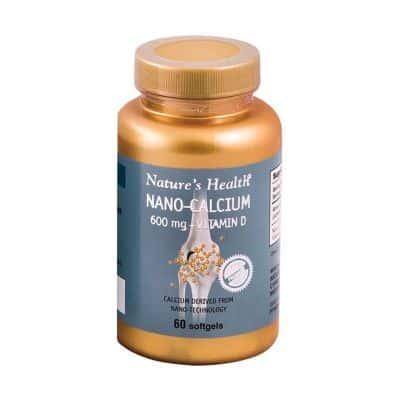 Suplemen Vitamin D Terbaik VIVA PHARMACEUTICAL Nature's Health Nano Calcium 600mg + Vitamin D