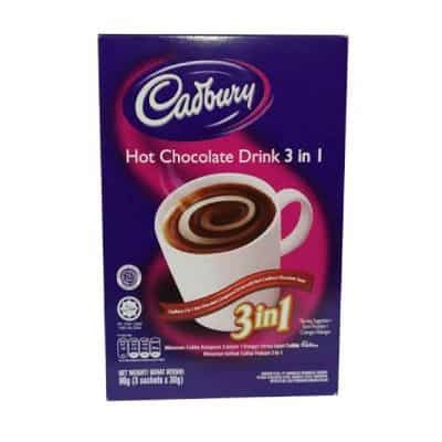 Minuman Coklat Bubuk Instan Enak Terbaik Cadbury Hot Chocolate Drink