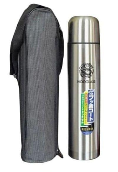 Termos Air Panas Kecil Terbaik Tahan Lama Indoglass Stainless Steel Vacuum Flask