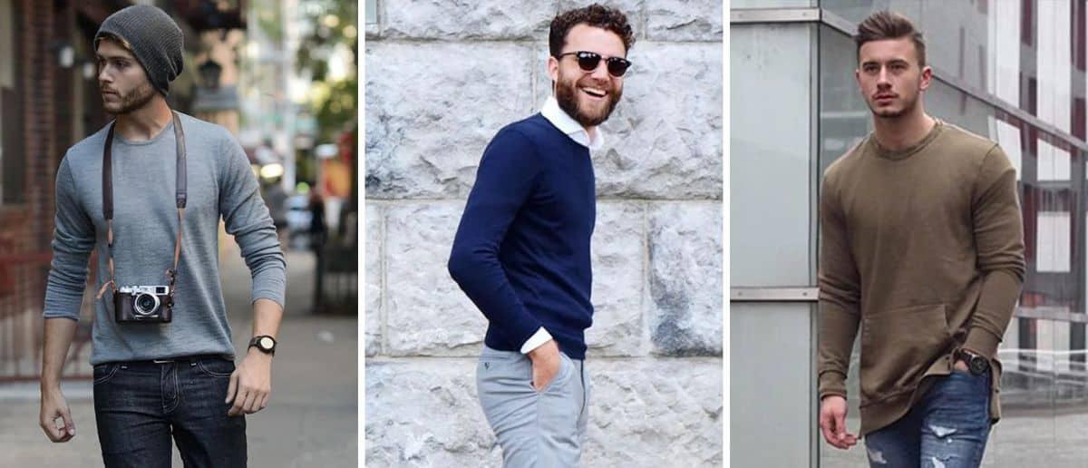 Kaos Lengan Panjang Pria Terbaik