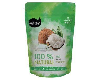Camilan Rendah Kalori Terbaik Mia Chia Coconut Bites