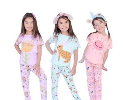 Baju Tidur Anak Perempuan Terbaik Kazel Piyama Girl Flower Edition