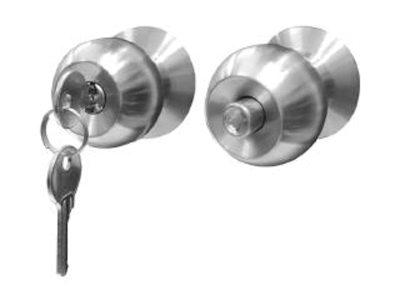 Handle Pintu Rumah Minimalis Terbaik Perintis Teknoprima - Solid Cylindrical Lockset C601X400N_