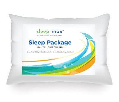 Bantal Guling Sleep Max Pillow Bolster Sleep Package