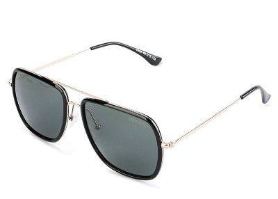 Kacamata Hitam Pria Keren Urban State Polarized Plastic Rim Barstow Aviator Sunglasses