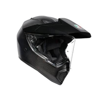 Helm Supermoto Terbaik AGV AX9 Matt Carbon