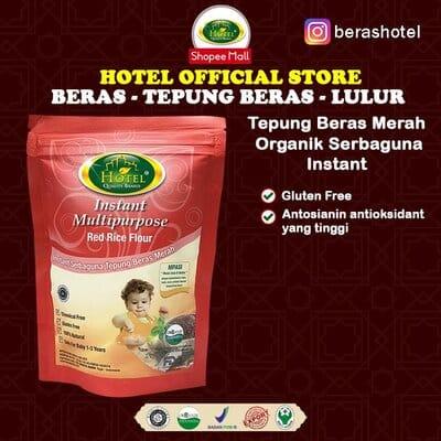 Tepung Beras untuk Bayi Terbaik Hotel beras merah