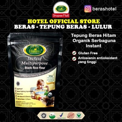 Tepung Beras untuk Bayi Terbaik Hotel tepung beras hitam