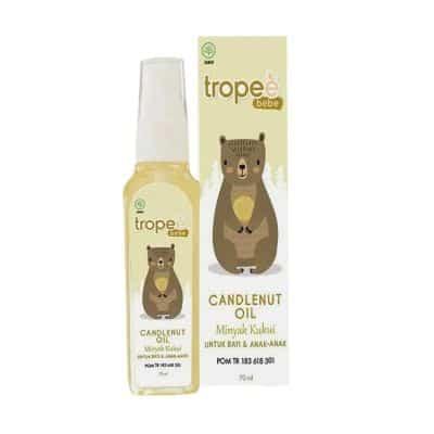 Merk Minyak Kemiri Terbaik Tropee Bebe Candlenut Oil