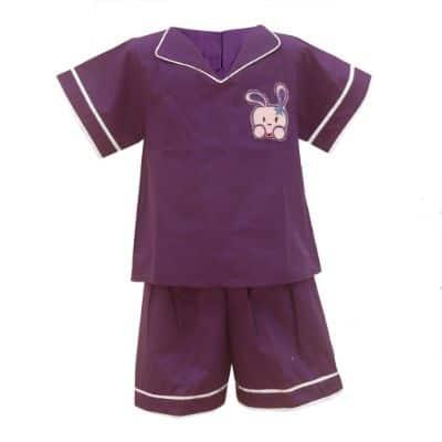 Baju Tidur Anak Perempuan Terbaik Two Mix Piyama Anak Perempuan 4074