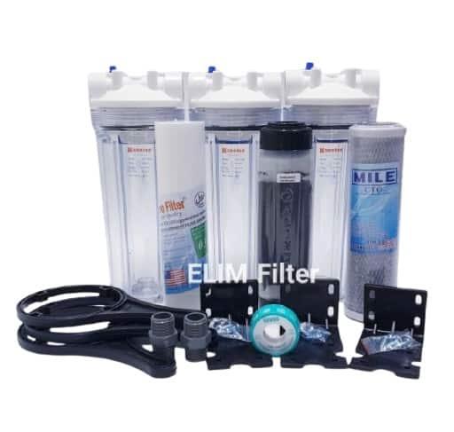Merk Penjernih Air Terbaik Filter Air Sumur 3 Housing Eugen Clear