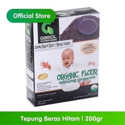 Tepung Beras untuk Bayi Terbaik Gasol tepung beras hitam
