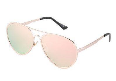 Kacamata Aviator Terbaik Amante KM C-744-E17 Silver
