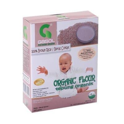 Tepung Beras untuk Bayi Terbaik Gasol tepung beras cokelat
