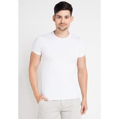 Kaos Dalam Pria Terbaik Jockey short sleeve r neck sport undershirt