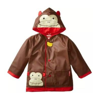 Jas Hujan Anak Terbaik Skip Hop Zoo Little Kid Raincoat Monkey