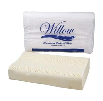 Bantal Guling Willow Pillow Ergonomic Latex Knitting