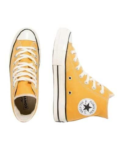Sepatu Sneaker Pria Terbaik Converse Chuck 70 HI Sunflower