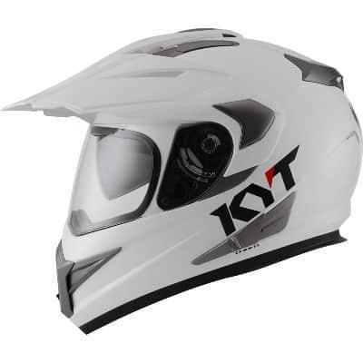 Helm Supermoto Terbaik KYT Enduro Solid