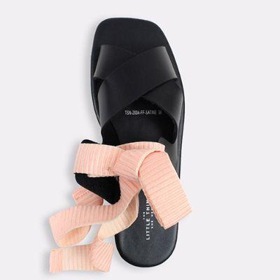 Sepatu Sandal Wanita Terbaik The Little Things She Needs SATINE Black