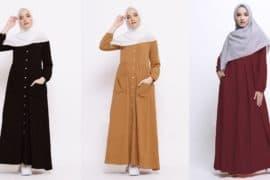 Model Baju Gamis Syar'i Terbaik