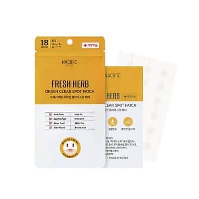 Acne Patch Terbaik Fresh Herb Origin Clear Spot Patch - Nacific