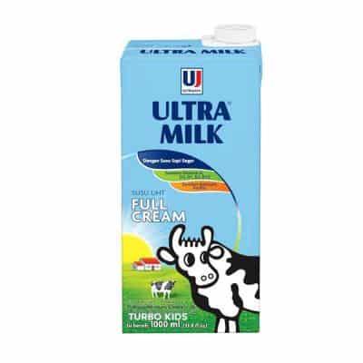 Susu Full Cream Terbaik Ultra Milk Full Cream