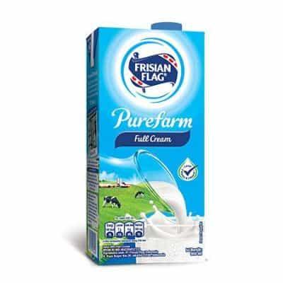Susu Full Cream Terbaik Frisian Purefarm Full Cream