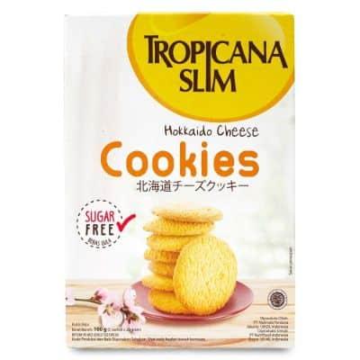 Produk Tropicana Slim untuk Diet Terbaik Tropicana Slim Hokkaido Cheese Cookies