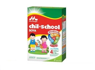 Susu Kacang Kedelai Bubuk Terbaik Morinaga Chil School Soya Vanilla