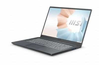 Rekomendasi Laptop MSI Terbaik MSI Modern 15