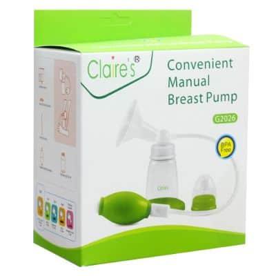 Pompa ASI Manual Terbaik Convenient Manual Breast Pump G2026 dari Claire's