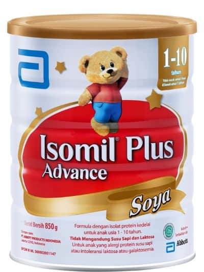 Susu Kacang Kedelai Bubuk Terbaik Isomil Plus Advance Soya