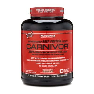 Suplemen Fitness Terbaik MuscleMeds Carnivor
