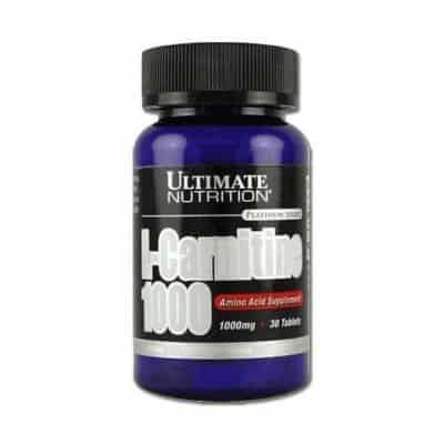Suplemen Pembakar Lemak (Fat Burner) Terbaik Ultimate Nutrition - L-Carnitine 500 mg