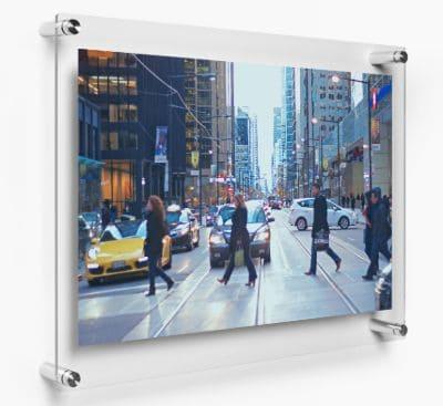 Bingkai Foto Minimalis Modern dan Unik Acrylic wall photo frames