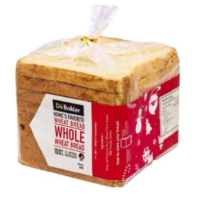 Roti Gandum untuk Diet Terbaik Debakker Whole Wheat Sandwich