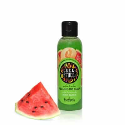 Lulur Pemutih Badan Terbaik Tutti Frutti Melon _ Watermelon Body Scrub