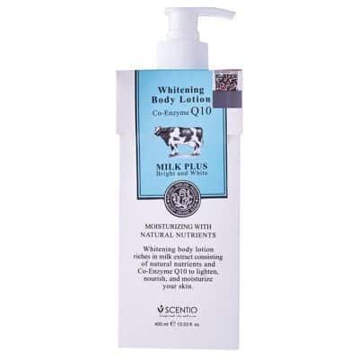 Handbody Pemutih Kulit Badan Terbaik Scentio - Whitening Body Lotion Co-Enzyme Q10