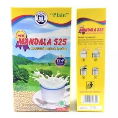 Susu Kacang Kedelai Bubuk Terbaik New Mandala 525