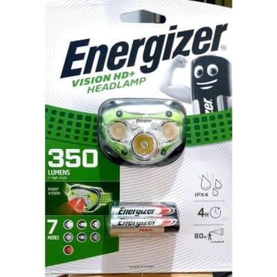 Senter Kepala Terbaik Lamp Energizer 350 Lumen